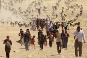 Yezidiler_daglara_sigindi_2
